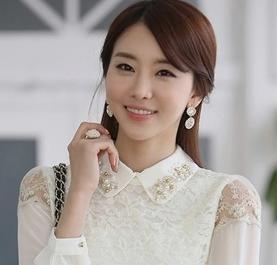 这个韩国模特叫什么名字?