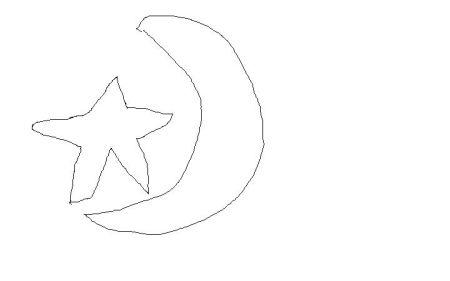 求一张可以用来印在衣服上的衣服上 星星月亮图 求大神做一张图啊图片