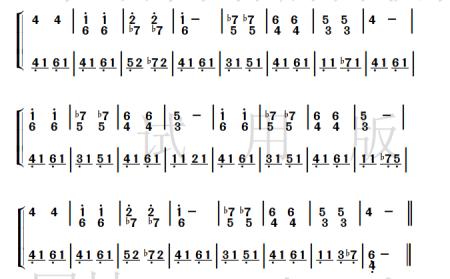 小星星的星星钢琴谱图片格式五线谱_钢琴谱_中国乐谱网-钢琴小星星