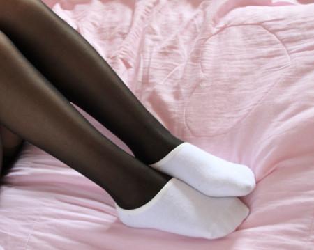 棉袜套白丝袜