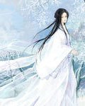 古风 白衣女子的图片