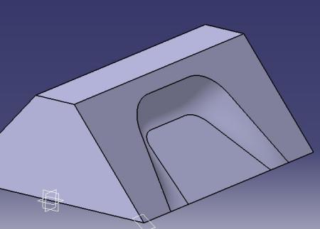 CATIA倒圆角时出现下面的问题,如下图
