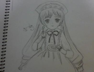 蔷薇少女或其它美型动漫的图片