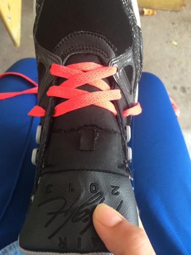 怎么穿鞋带,急!图片