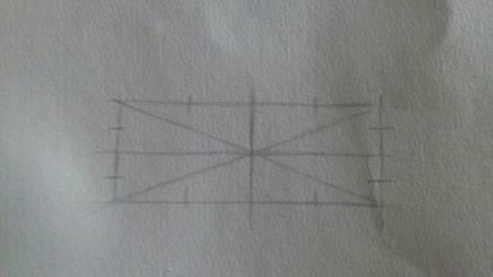 长方形切椭圆方法,图解要图解,素描图片