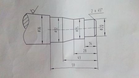 数控车床带图求编程解答图片