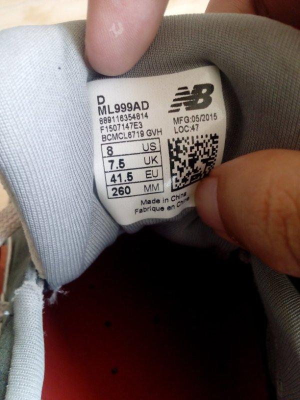 新百伦999,鞋底非常硬,求大神鉴定真假,感谢