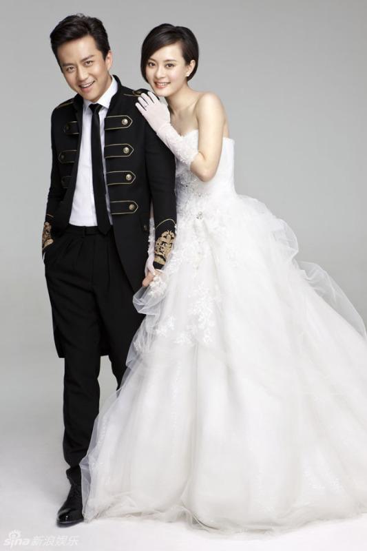 邓超和孙俪的结婚照
