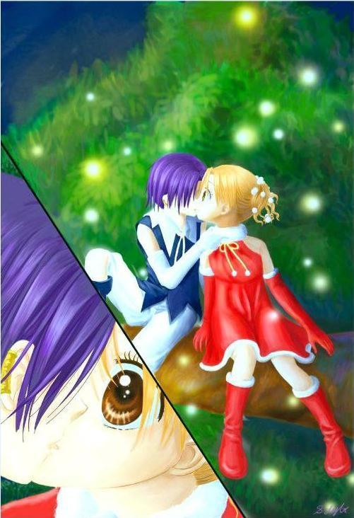 爱丽丝学园 的漫画中,蜜枣接吻的图片是哪一卷啊