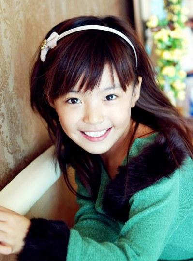 中国最好看的小女孩?