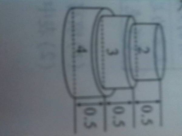 圆柱组成一个立体图形.这个立体图形的表面积是 128561图片