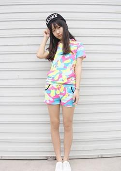 初中女生如何搭配夏季服装?