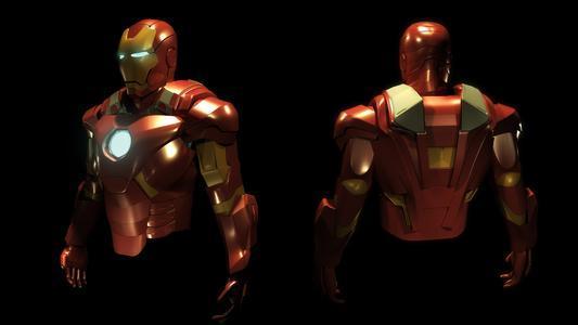 我想要一份 钢铁侠的图纸了, 能不能发给我啊,,谢谢 高清图片