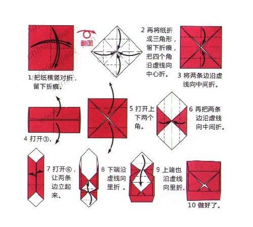 怎么用纸折盒子_百度知道