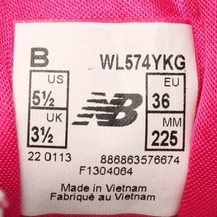 刚在网上买的nb574鞋子,求大神帮忙鉴定一下真假