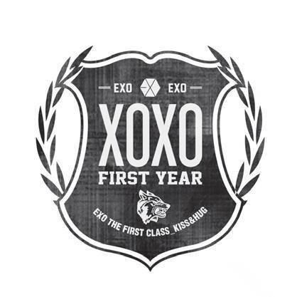 求EXO新专辑XOXO的logo大图