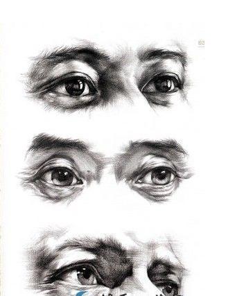 眼睛怎么画妆好看 画人眼睛素描 人的眼睛怎么画