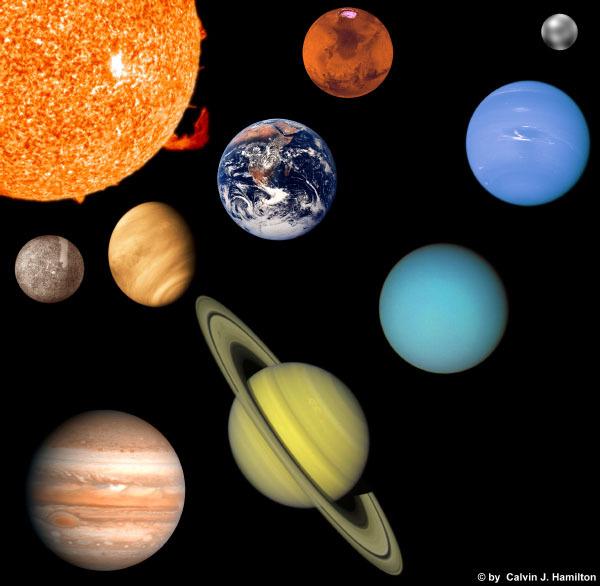 太阳系中的八大行星是哪些