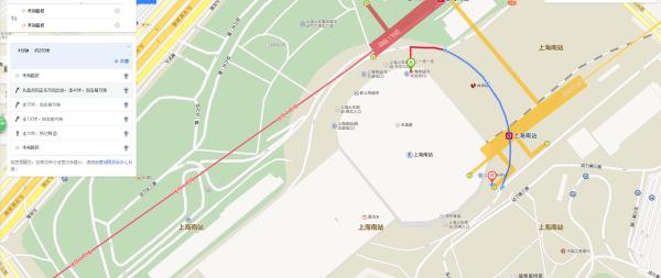 从上海南站到地铁三号线车站怎么走啊图片