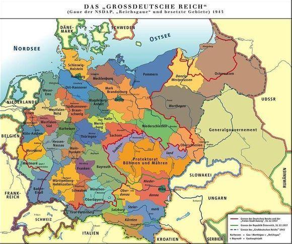 失去的胜利——德意志第三帝国(二战最大版图)-有关德国二战前后