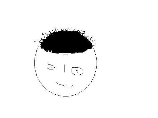 头发为什么会一根根翘起?图片