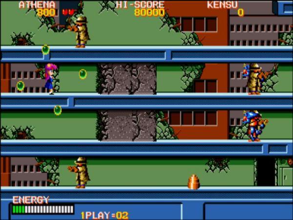 80年代有个街机游戏 主人公是一个男生和一个女生