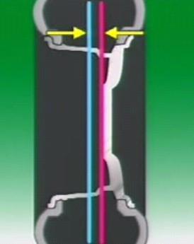 雪佛兰景程原装数据轮距和偏距黑白轮毂人物海报设计图片