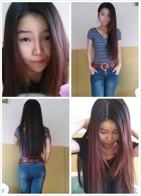 头发留到现在这种长度是剪到肩膀弄梨花头好看还是直接卷大波浪好看图片
