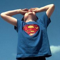 情侣超人衣服_cosplay万圣节服装成人超人服儿童超人服装情