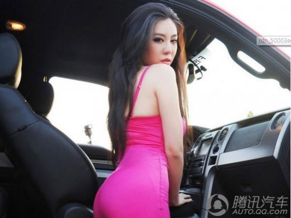 中国车模 这女人名字叫什么?