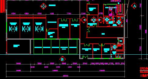 汽车专修店的CAD图纸如何设计