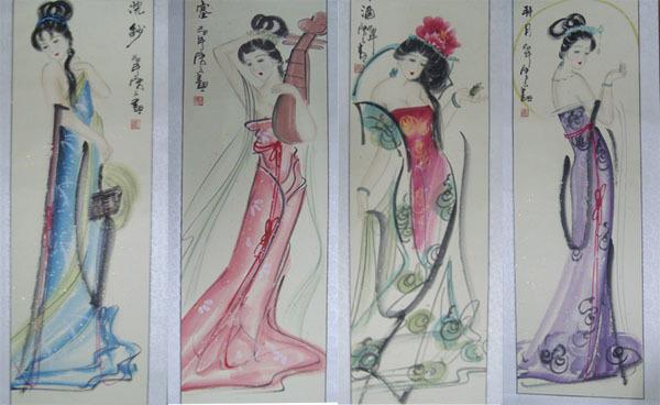 中国古代四大美女美在何处?