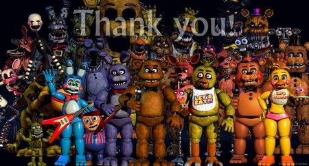 玩具熊的午夜后宫4玩偶
