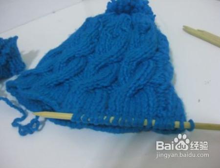 老年帽子毛线编织方法