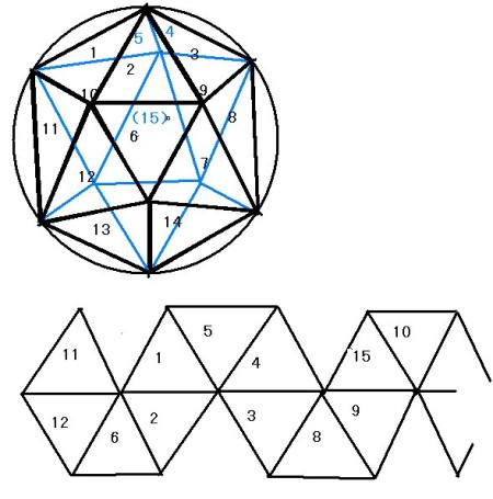 图中一共有( )个三角,其中, 直角三角形有( )个 锐角三角形有( )个图片