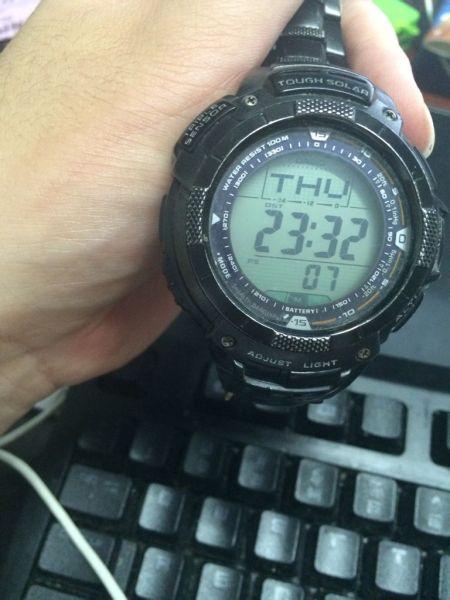 卡西欧手表日期调快了怎么办