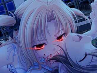 美女吸血鬼吸血图片