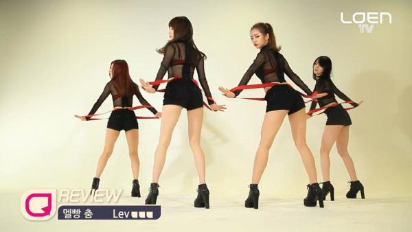 韩国女团禁舞