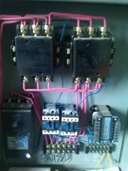 车间进行的单项电机交流接触器自锁,控制电路比武 接触器自锁正转图片