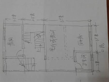 地基是10*11的,一层是店面,二,三层住人,要是设计图纸的话要多少钱?图片