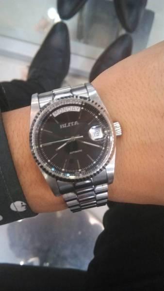 应该是瑞士的百利达手表