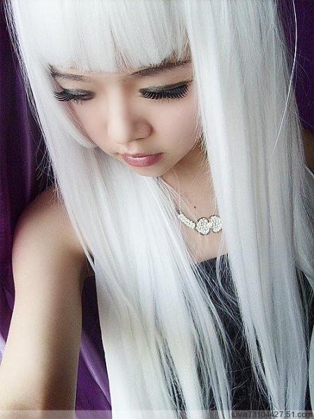 头发上的白色管状物如何去除图片