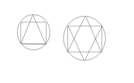 """按要求用""""1圆形,1正方形图片"""