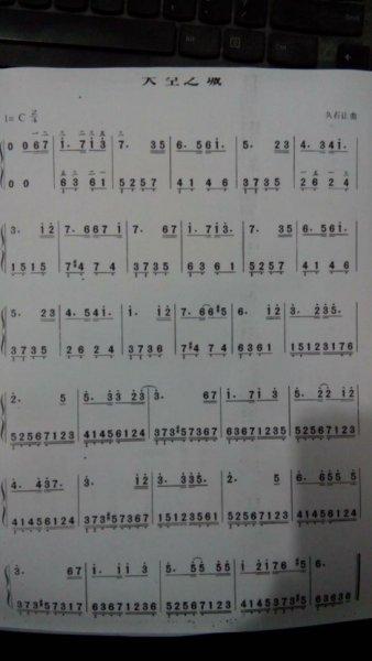 天空之城的钢琴简谱,要数字的和琴谱图片