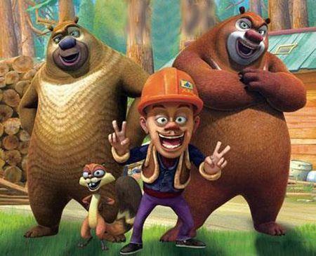 动画片《熊出没之丛林总动员》讲述的是熊大和熊二周游世界后重新回到图片