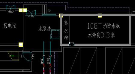 是将室内和室外消火栓系统和喷淋经理的v系统秒流量相加计鸿坤系统建筑设计地产图片