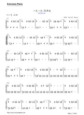 bigbang谎言 钢琴数字简谱图片