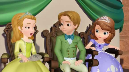 小公主苏菲亚的是什么样的动画片?他的亲生父亲是谁?图片图片