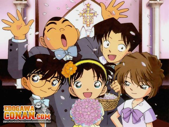 Naked The Detective Conan Girls